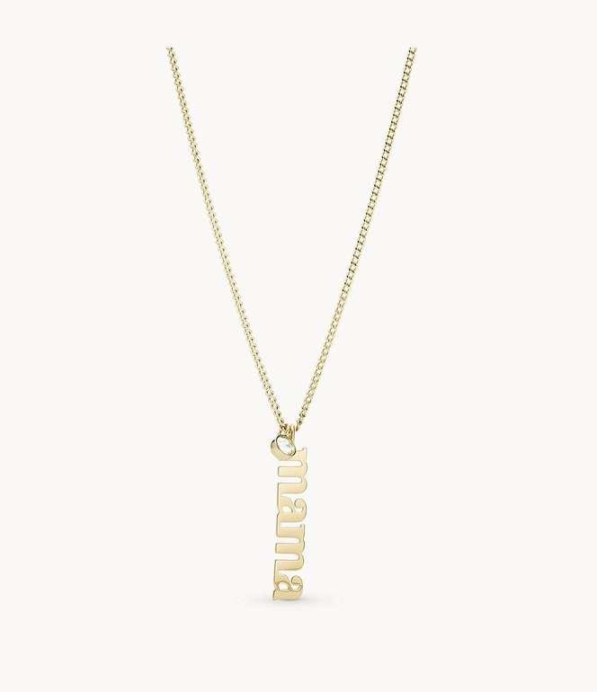 Muttertags-Idee: Fossil Damen Halskette Mother's Day für 16,32€ inkl. Versand (statt 39€)