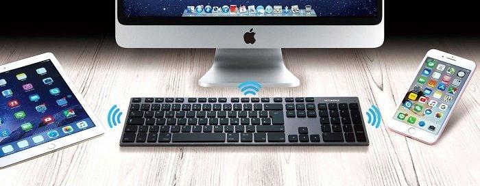 Networx Pro Tastatur Multihost Bluetooth Tastatur für 39,99€ inkl. VSK