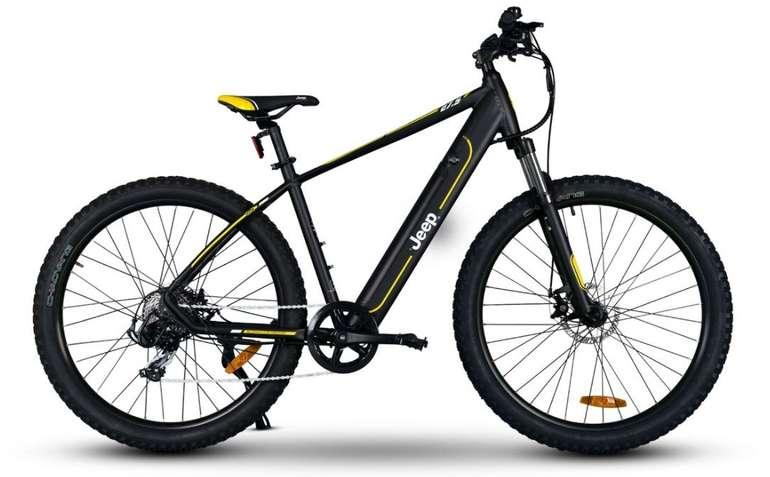 Jeep Mountain MHR 7000 E-Bike (250W, 36V, 10,4 Ah, 374,4 Wh RW 80 km, 27,5″) für 1399€ (statt 1699€)