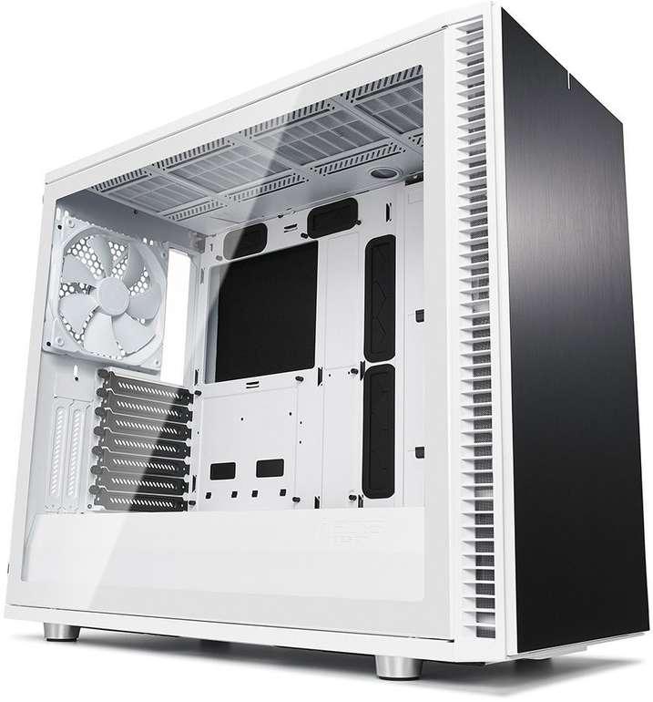 Fractal Design Define S2 White PC-Gehäuse (mit 3 Lüftern, 7 Erweiterungsplätze) für 106,89€ inkl. Versand (statt 146€)