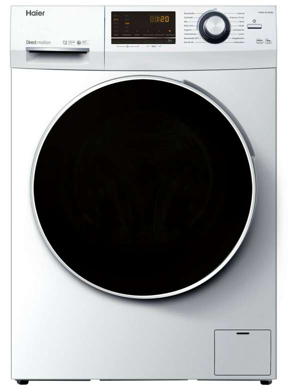 Haier HW80-B14636N Frontlader Waschmaschine (8 kg, Direct Motion, EEK: A) für 333,33€ inkl. Versand