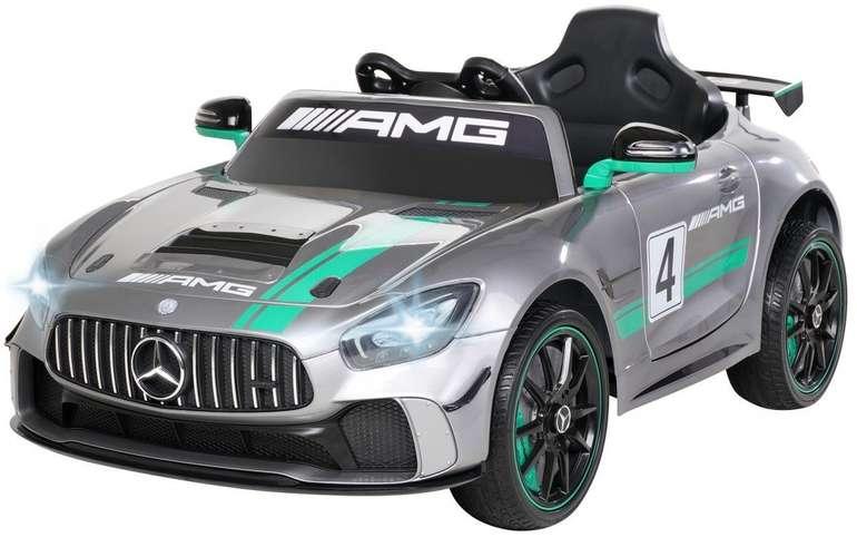 Actionbikes Fernlenkauto Mercedes AMG GT4 Sport Edition silber lackiert für 164,95€ inkl. Versand (statt 265€)