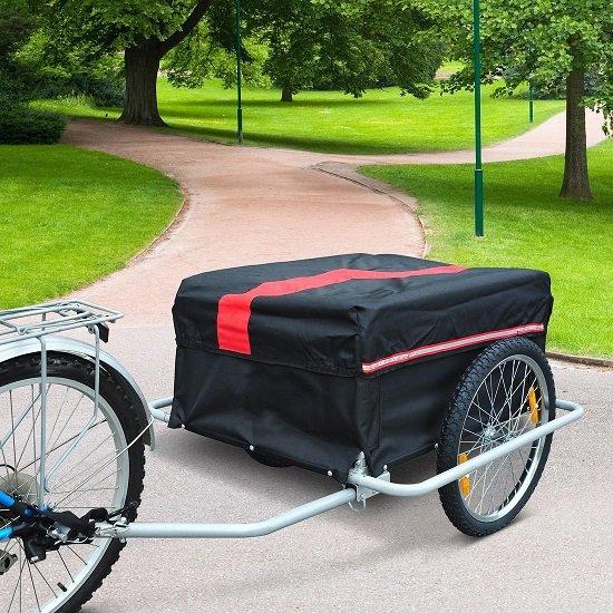 Homcom Transportanhänger für Fahrräder für 75,99€ (statt 95€)