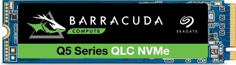 "Seagate NVMe SSD Barrcuda Q5 (2TB) ""ZP2000CV3A001"" für 169,96€ inkl. Versand (statt 207€)"