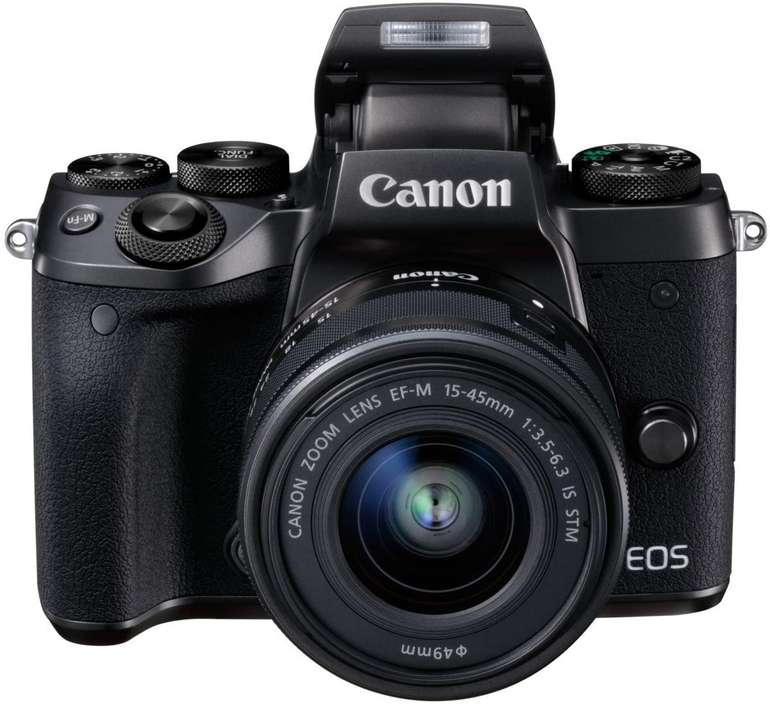 Canon EOS M5 Kit inkl. EF-M 15-45mm IS STM Objektiv für 499€ inkl. Versand (statt 645€)