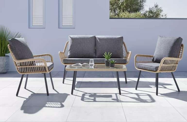 """Bessagi Garden Loungegarnitur """"Enno"""" in Rattanoptik für 349,30€inkl. Versand (statt 499€)"""