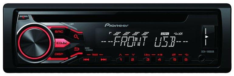 Pioneer DEH-1800UB Autoradio (1 DIN, 50 Watt) für 38€ inkl. Versand (statt 66€)