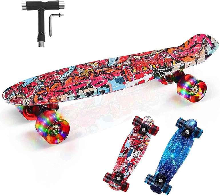 Brgood Mini Cruiser Skateboard für 15,96€ inkl. Versand (statt 40€)