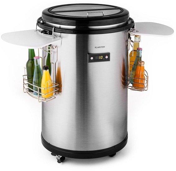 Klarstein Mr. Barbot 50L Bar-Kühlschrank mit A+ aus Edelstahl für 199,99€ inkl. VSK (statt 293€)