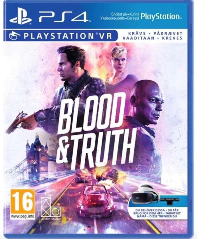 Blood & Truth (PS4-VR) für 13,95€ inkl. Versand (statt 21€)