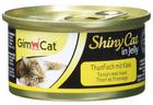 Preisfehler? 24x 70g GimCat ShinyCat in Jelly Thunfisch Katzenfutter ab 6,80€