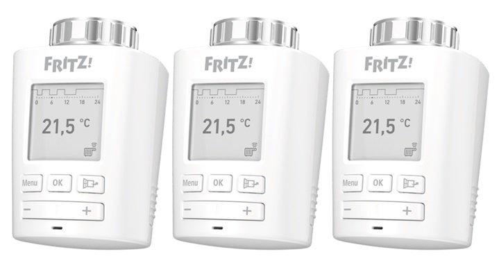 3er Pack AVM FRITZ!DECT 301 Thermostate für 118,98€ inkl. Versand (statt 140€)