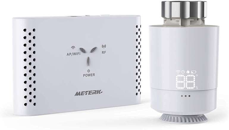 Meterk smartes Heizkörperthermostat Kit für 19,97€ inkl. Versand (statt 50€)