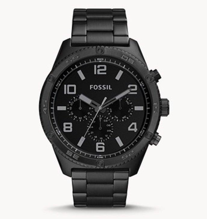 Fossil BQ2532 Brox - Herren Multifunktions-Uhr aus Edelstahl für 92,40€ inkl. Versand (statt 132€)
