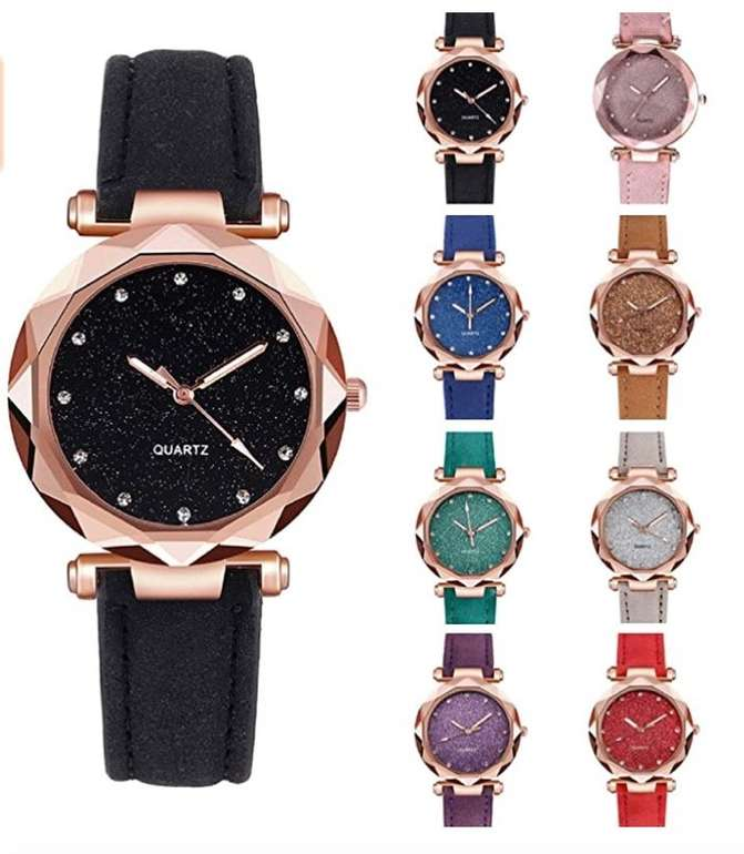 Vesniba Damen Armbanduhr (versch. Farben) für je 5,67€ inkl. Versand (statt 19€)