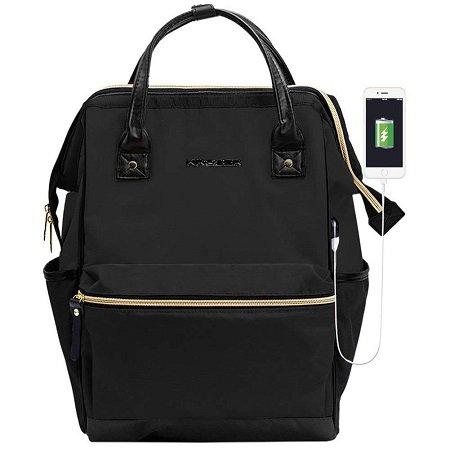 Kroser - 15,6 Zoll Laptop Rucksack mit USB-Ladeanschluss für 20,24€ mit Prime