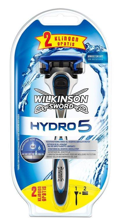 Wilkinson Rasierer Hydro 5 + 3 Klingen für 7,99€ inkl. Versand (statt 13€)