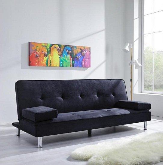 Bessagi Home 'Esther' Sofa mit Schlaffunktion in Grau für nur 69,30€ bei Abholung (statt 200€)