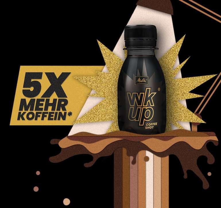 Gratis: 100% Cashback auf bis zu 3 wkup Coffee Shots bekommen