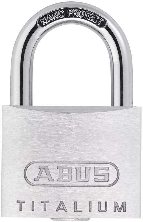 ABUS 64TI/30 Titalium Schloss mit zwei Schlüsseln für 3,19€ inkl. Versand (statt 7€)