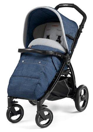 Peg Perego Book 51S Completo Kinderwagen (2017) Blue Denim für 305,97€