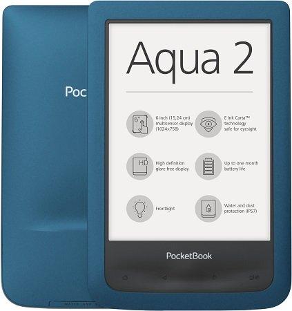 PocketBook Aqua 2 E-Book Reader als B-Ware für 62,91€ inkl. VSK (statt 117€)