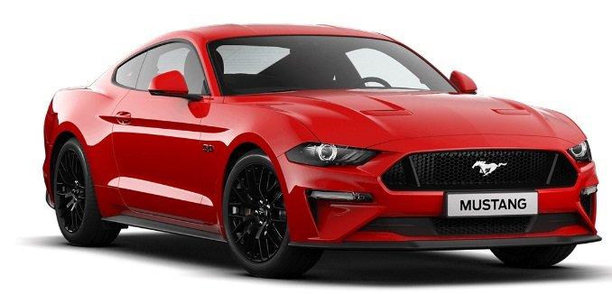 Ford Mustang GT mit 450PS V8 Motor mit 10.000km pro Jahr für 389€ mtl. leasen
