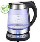 Grafner - Glas Wasserkocher 2200 Watt mit LED Anzeige für 28,90€