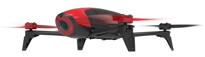 Parrot BeBop 2 Drohne in Rot für 205,90€ inkl. VSK (statt: 320€)