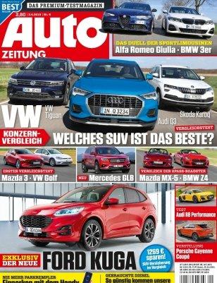 Auto Zeitung im Jahresabo für 83,75€ + 85€ Bestchoice Gutschein