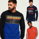 Superdry Herren Sweatshirts für je 27,95€ inkl. Versand