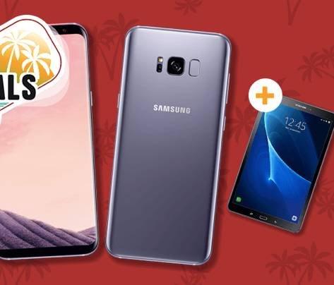 Galaxy S8 Plus (4,95€) + Galaxy Tab A 10.1 + Otelo Allnet (4GB) für 29,99€ mtl.
