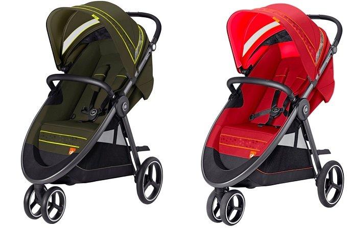 GB Gold Sila 3 Kinderwagen in verschiedenen Farben für je nur 89€ (statt 126€)