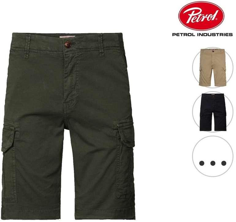 Petrol Cargo-Shorts SHO536 in vier Farben für je 30,90€ inkl. Versand (statt 36€)