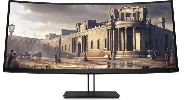 "HP Z38c Curved - 37,5"" UWQHD+ Business Monitor (DisplayPort, HDMI, USB-C, 14ms, 60Hz) für 899€"