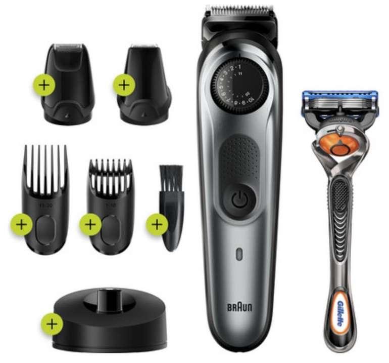 Braun BT7240 Herren Barttrimmer und Haarschneider für 43,69€ inkl. Versand (statt 54€)