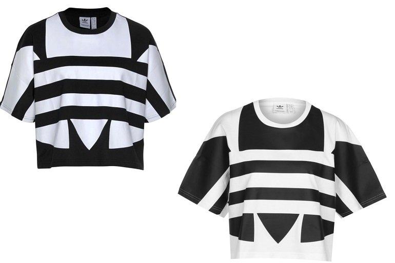 Adidas Originals Large Logo Damen T-Shirt in zwei Farben für je nur 14,99€ (statt 25€)