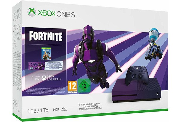 Xbox One S 1TB Konsole – Fortnite Battle Royale Special Edition-Bundle + Fifa 20 (DC) für 249€ inkl. Versand