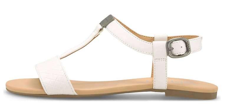 Esprit Sandale Pepe Woven in Weiß für 23,35€ inkl. Versand (statt 34€)