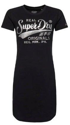 Superdry Shirtkleid in schwarz für 42,42€ inkl. Versand (statt 50€)