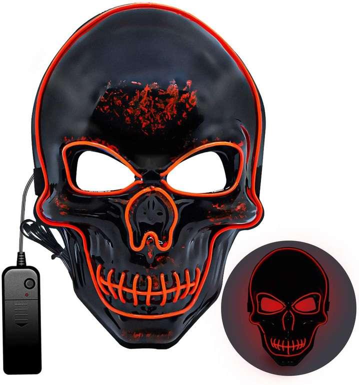 Mummed Halloween LED Maske (3 Modi, 3 Varianten) für je 6,94€ inkl. Prime Versand (statt 14€)