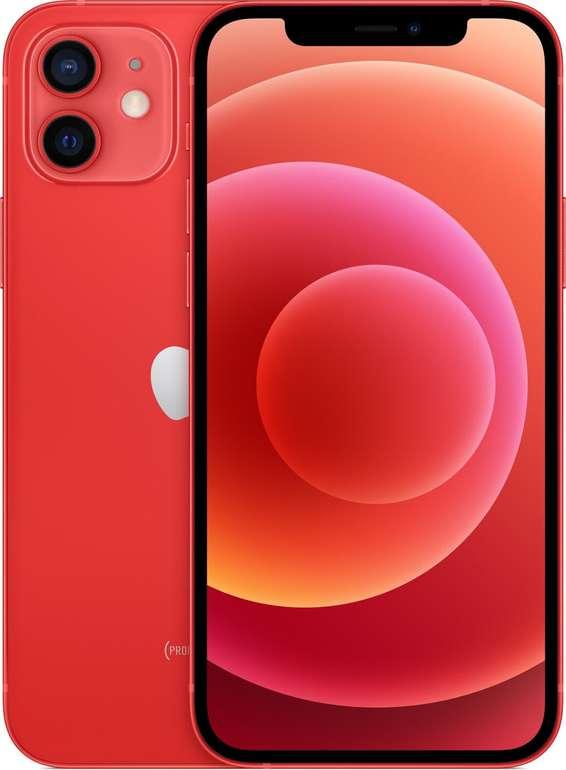 Apple iPhone 12 mit 64 GB (+49,95€) + Vodafone Smart L + 15 GB LTE für 34,99€ mtl.