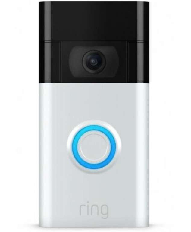 Ring Video Doorbell (2. Gen.) Funkklingel mit Nachtlicht und Bewegungsmelder + Ring Chime 2 für 99€ (statt 139€)