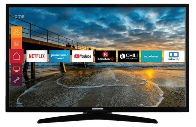 Telefunken 32 F 2000 - 32 Zoll Full-HD LED-TV für 188€ inkl. Versand (statt 219€)