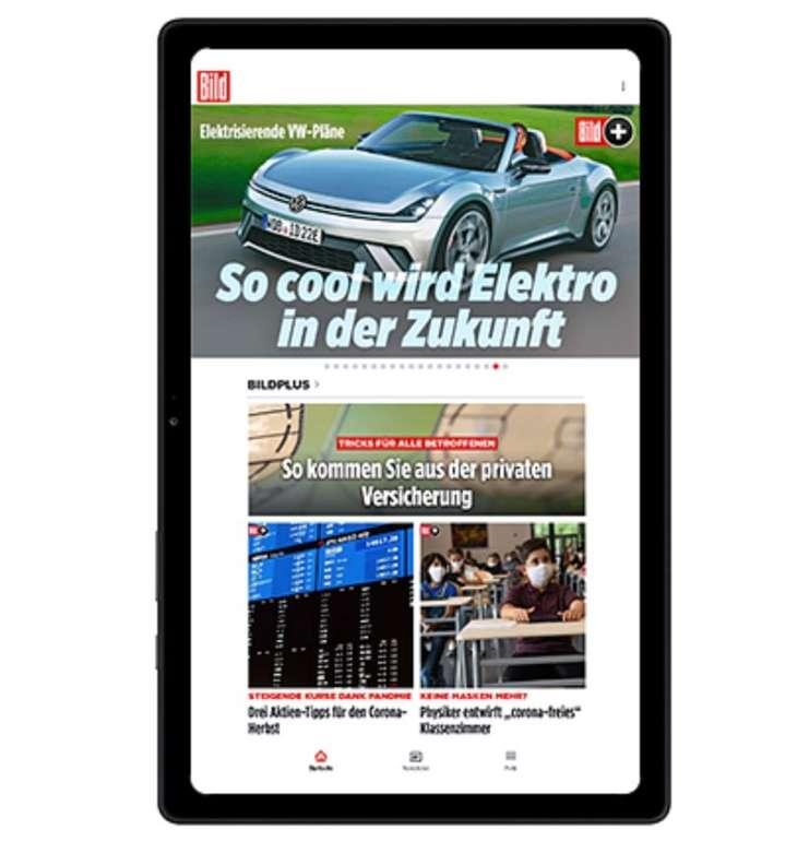 24 Monate BILDplus Premium Abo + Samsung Galaxy Tab A7 32GB für 7,99€ mtl. (komplett 191,76€ statt 400€)