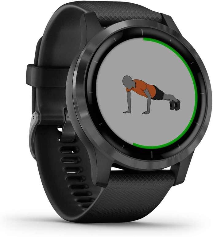 Garmin vívoactive 4 – wasserdichte GPS-Fitness-Smartwatch für 227,99€ (statt 257€)