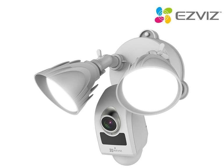 Ezviz LC1 WLAN Überwachungskamera mit Sirene & Bewegungssensor für 105,90€ inkl. Versand