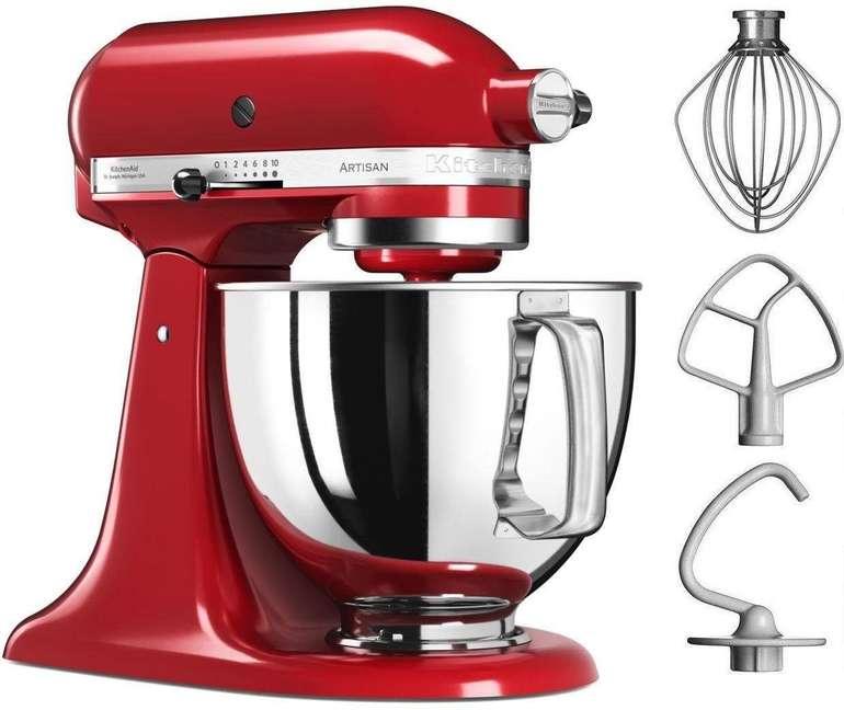 KitchenAid Artisan 5KSM125EER Küchenmaschine 381,95€ inkl. Versand (statt 506€)