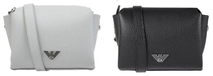 Emporio Armani Crossbody Bag mit verstellbarem Schulterriemen für 90,99€ inkl. Versand (statt 130€)