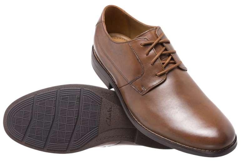 Clarks Becken Plain Herren Leder Budapester Schuhe für 28,94€ inkl. Versand (statt 43€)